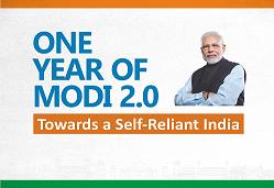 One year of modi 2.0